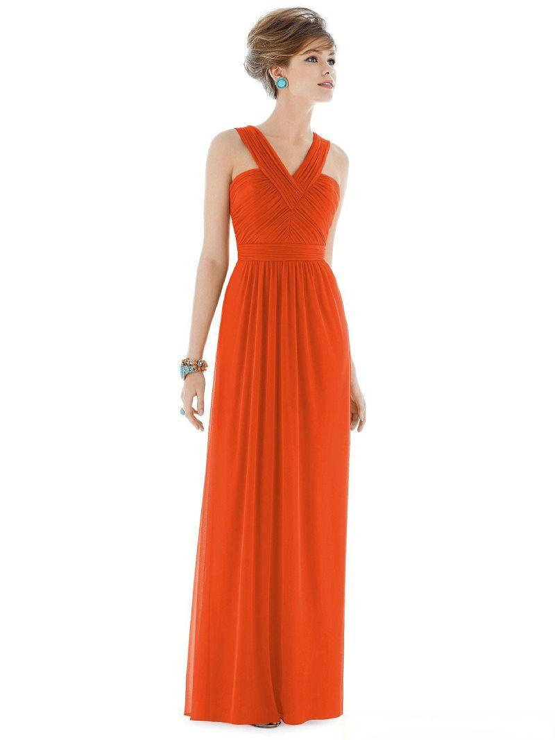 Large Of Orange Bridesmaid Dresses
