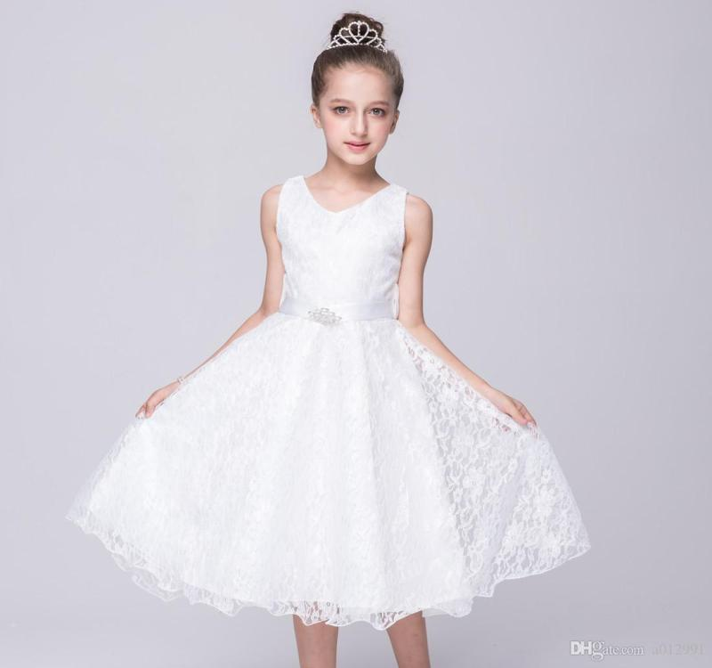 Large Of White Dresses For Girls