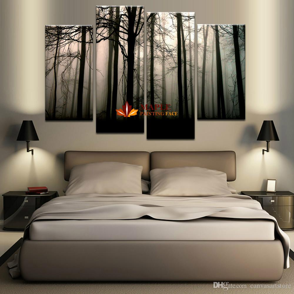 Grande 2018 Panel Large Canvas Art Abstract Hd Canvas Print Home Decorwall Art Painting Forest Landscape From 2018 Panel Large Canvas Art Abstract Hd Canvas Print Home houzz 01 Large Canvas Art
