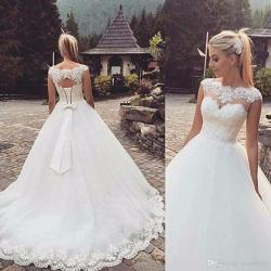 Small Crop Of Corset Wedding Dresses