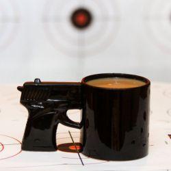 Divine Mugs Ny Gun Mug Milk Tea Cup Pistol Grip Coffee Cups Mugs Ny Gun Mug Milk Tea Cup Officeceramic Coffee Mug Drinkware Discount Coffee Mugs Drinking Mugs From Pistol Grip Coffee Cups