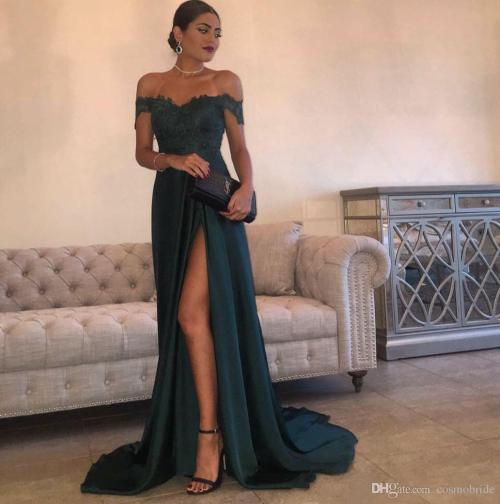 Smartly 2017 Off Shoulder Prom Dresses Long Split Side Sexy Backlessevening Party Gowns Custom Made Cheap Vestidos Prom Dress Prom Dress Onlinewith 2017 Off Shoulder Prom Dresses Long Split Side Sexy
