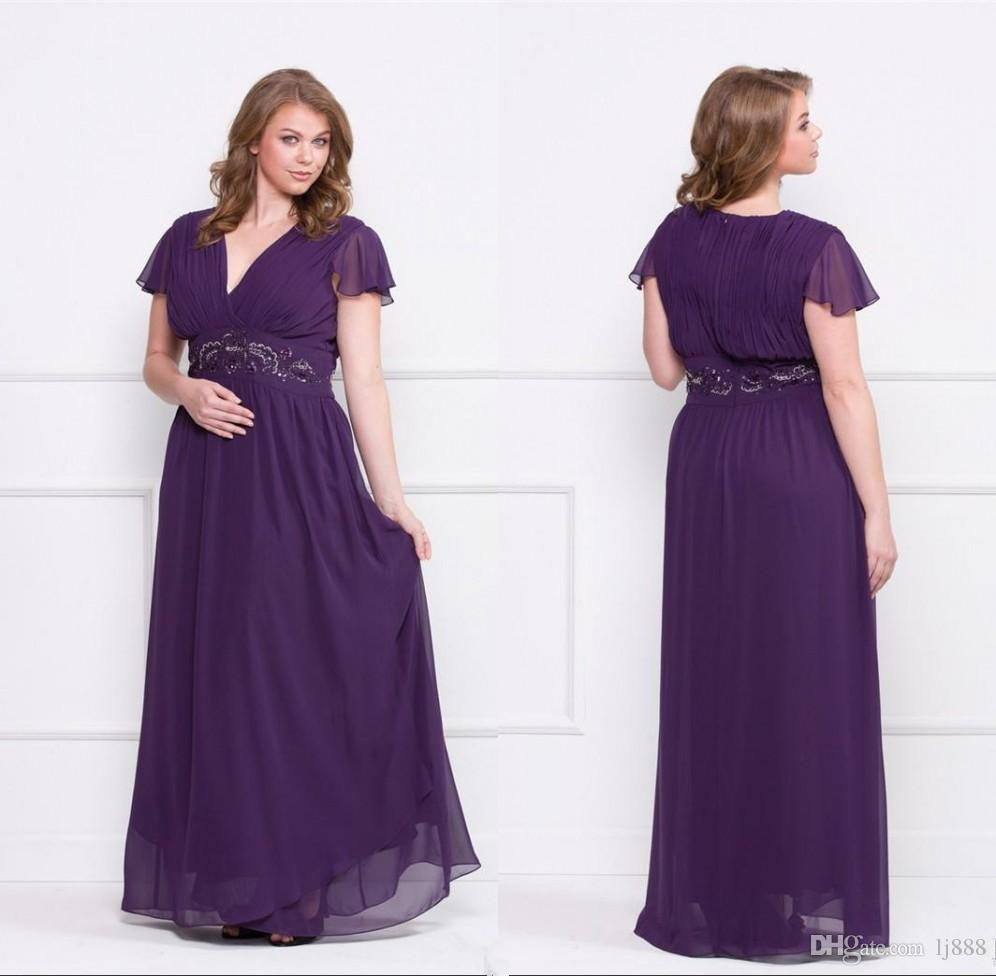 Fullsize Of Plus Size Purple Dress