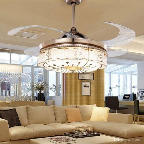 Medium Crop Of Chandelier Ceiling Fan