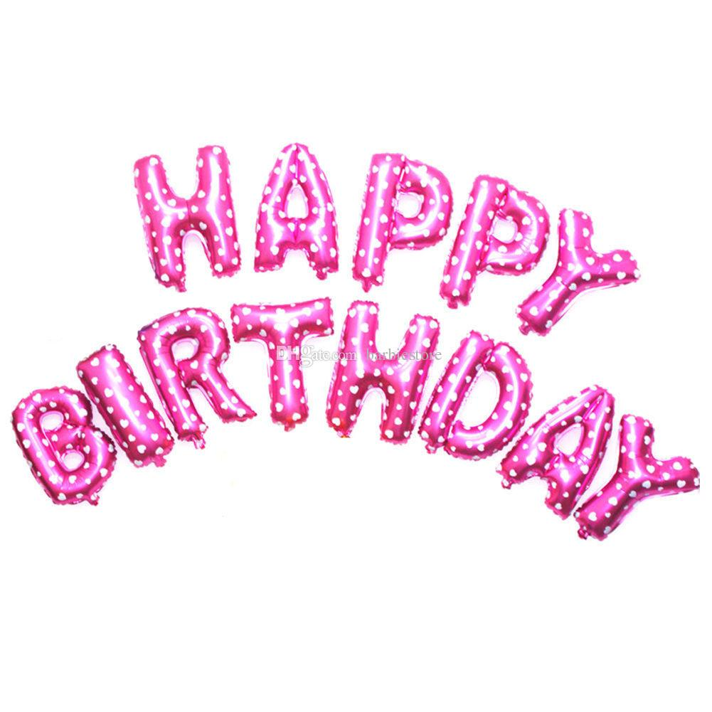 Remarkable Happy Birthday Letters Foil Balloons Birthday Celebration Partydecor Happy Birthday Letters Foil Balloons Birthday Celebration Happy Birthday Letter To Boyfriend Happy Birthday Letter To Fr gifts Happy Birthday Letter
