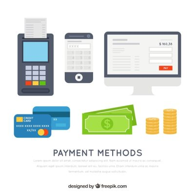 Modern and traditional payment methods Vector | Free Download