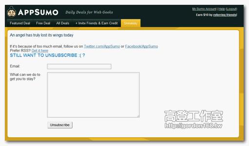 免費得到了 Dropbox PRO 帳號 appsumo 6