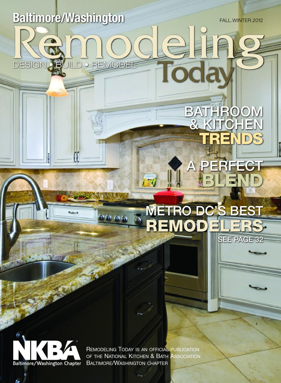 rtfw12dc kitchen remodeling baltimore Remodeling Today Baltimore Washington Fall Winter by Remodelinform issuu