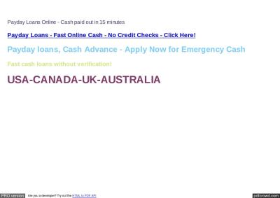 Get Payday Loans : Payday Loans No Lenders : Payday Loans ...