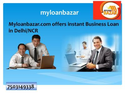 Myloanbazar com offers instant business loan in delhincr by myloanbazar - Issuu