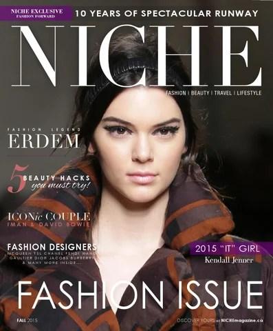 NICHE Fashion Issue 2015 by NICHE magazine - Issuu