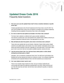 Fancy Dress Code Licensed Stores U S 2016 By Susan Douglas Issuu Starbucks Dress Code 2016 Starbucks Dress Code Shoes