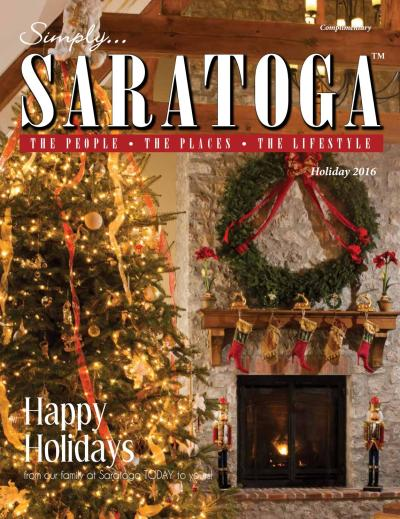 Simply Holiday 2016 by Saratoga TODAY - Issuu
