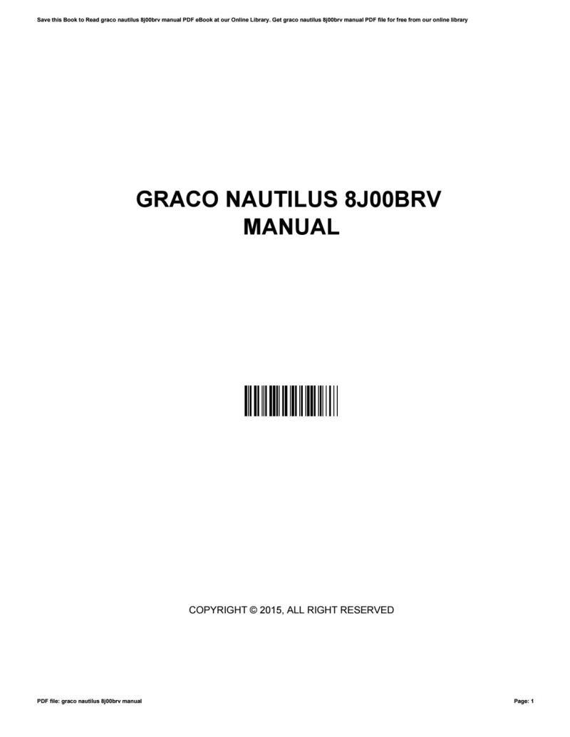 Large Of Graco Nautilus Manual
