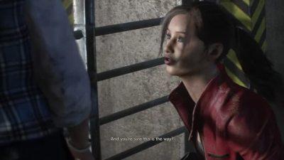 Gameplay Resident Evil 2 (2019) : Claire et Sherry au commissariat - jeuxvideo.com
