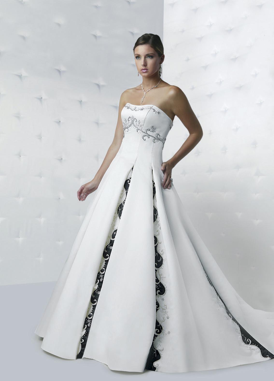 wedding dresses with color trim wedding dress with color Wedding Dresses With Color Trim 86