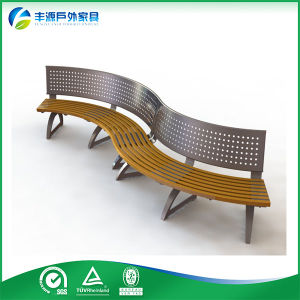 Durable Garden Bench With Wooden Seating Antique Bench Outdoor Wood  Curved Cast Alum Antique Wooden Bench82