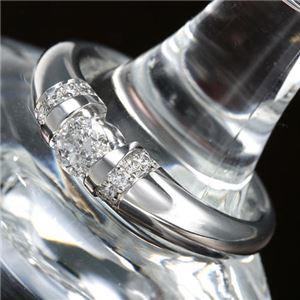 プラチナPt900 /0.28ctダイヤリング 指輪 13号