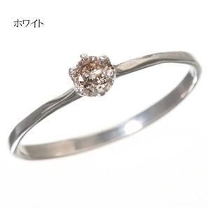 0.1ctダイヤリング 指輪 セレブリング 1910/ホワイト 13号