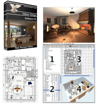 3D Interior Design CAD House Home Designer Software | Software | Design