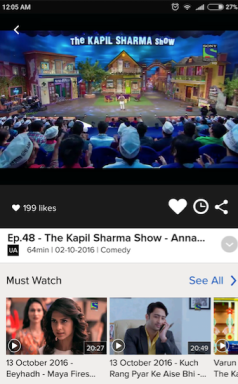 SonyLiv app for Android