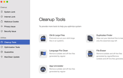 Mac Clean 3 by iMobie for Mac OS X