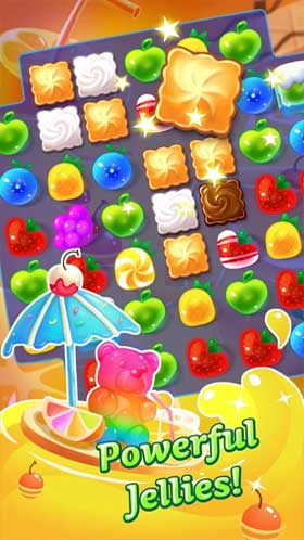 Jolly Jam Match and Puzzle