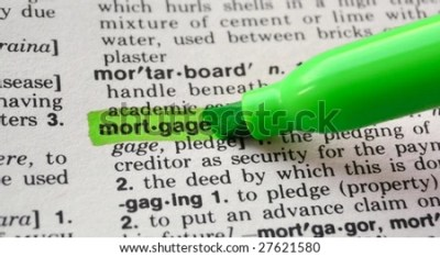mortgage meaning dictionary