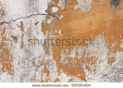 Badly Damaged Plaster Wall Wallpaper Background Stock Photo 109381604 : Shutterstock