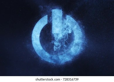 Power Images  Stock Photos   Vectors   Shutterstock Power button sign  Power Button symbol  Abstract night sky background