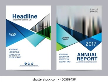 Brochure Layout Design Images  Stock Photos   Vectors   Shutterstock Blue Brochure Layout design template  Annual Report Flyer Leaflet cover  Presentation Modern background  illustration
