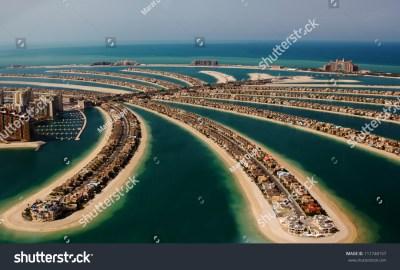 Palm Jumeirah Palm Island Dubai United Stock Photo 111748157 - Shutterstock