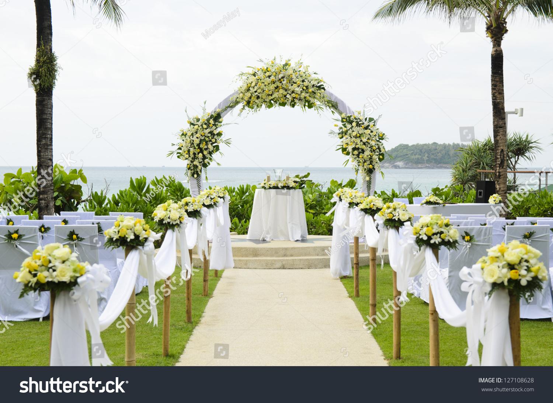 wedding set garden inside beach wedding set wedding set up in garden inside beach