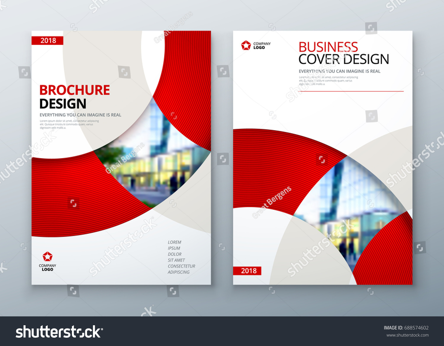 Brochure Template Layout Design Corporate Business Stock Vector     Brochure template layout design  Corporate business annual report  catalog   magazine  flyer mockup