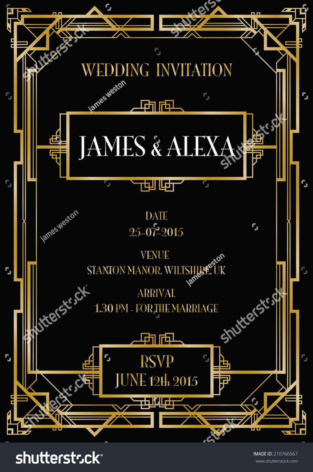 stock vector gatsby art deco wedding invite background gatsby wedding invitations gatsby art deco wedding invite background