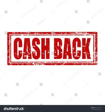 Grunge Rubber Stamp Text Cash Backvector Stock Vector 162183401 - Shutterstock
