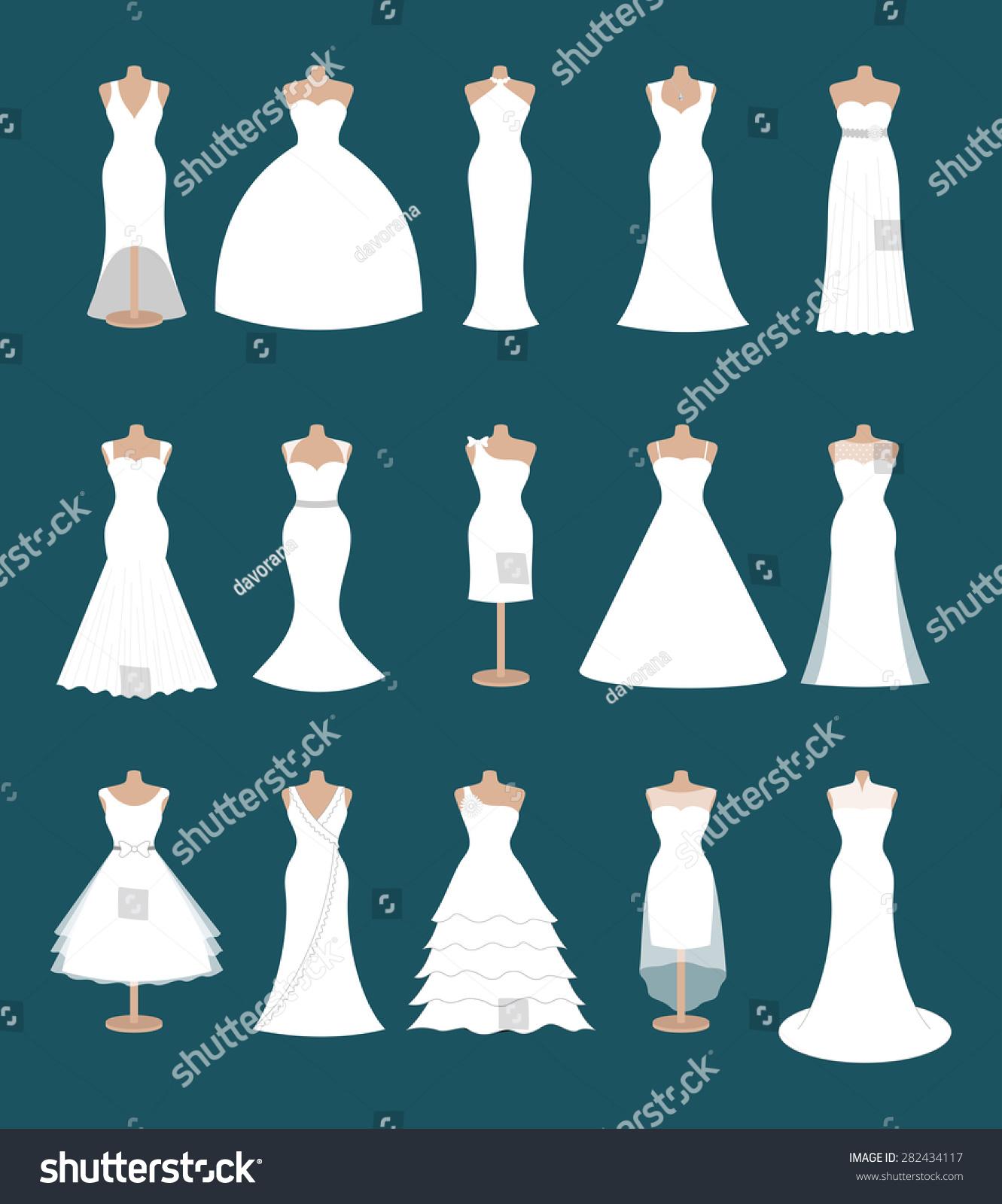 wedding dress silhouettes different wedding dresses Ballgown
