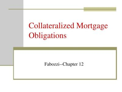 PPT - Collateralized Mortgage Obligations PowerPoint Presentation - ID:1093153