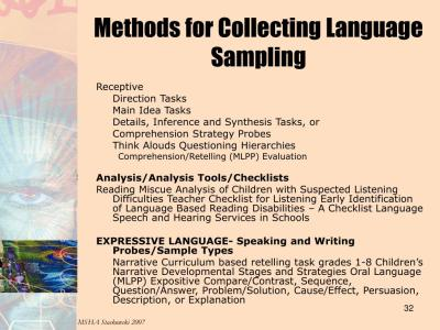 PPT - Michigan Speech-Language Guidelines S uggestions for Eligibility, Service Delivery, & Exit ...