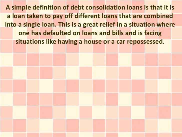 Do I Have To Own A Home To Receive A Debt Consolidation Loan?