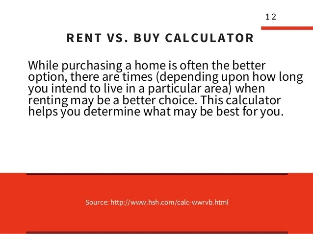 12+ mortgage calculators for first time home buyer