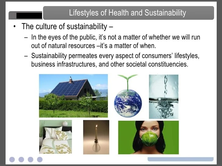 Sustainability and the Consumer - LOHAS