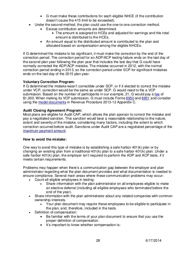 401k Mistakes | IRS Updated 401k Fix-It Guide