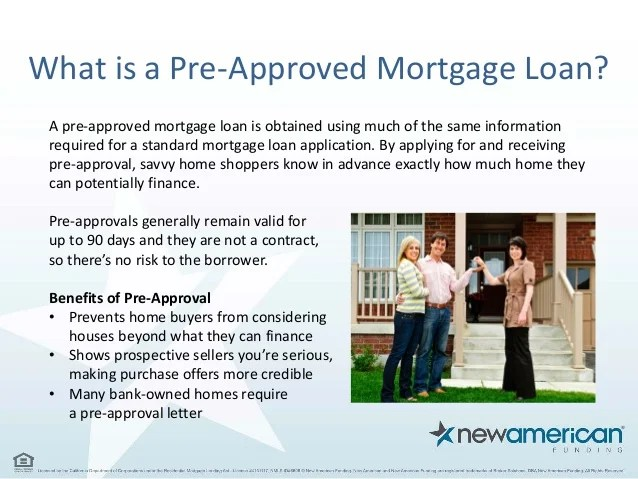 5 Things You Need to Be Pre-Approved for a Mortgage Loan - New Americ…