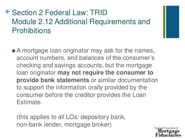 Mortgage Loans: 2017
