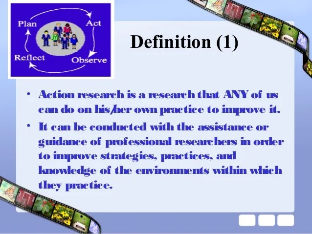 Action Research in Education- PPT