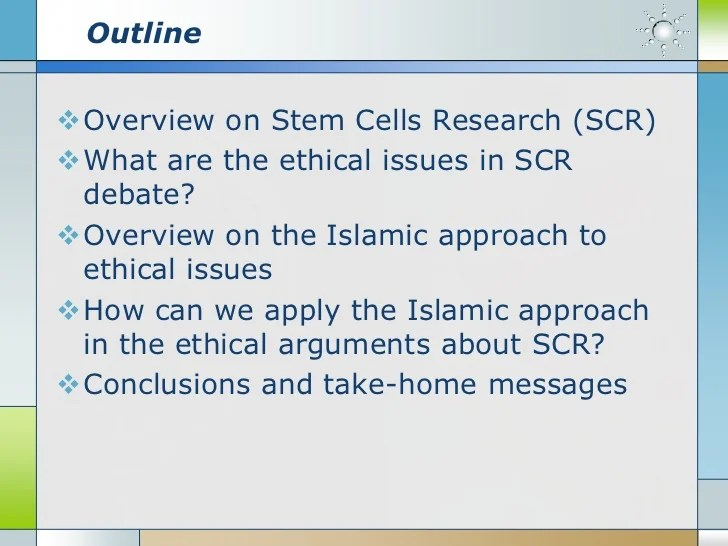 An islamic approach to ethical analysis of the ethical issues in Stem…