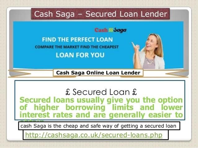 Cash Saga| Secured loan with bad credit| Secured Loan FAQs