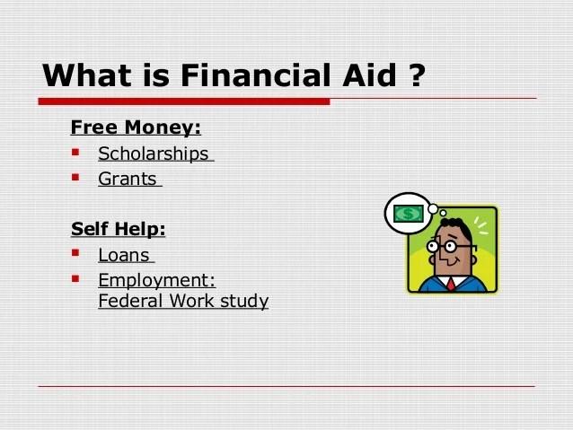 College financial aid presentation 2013