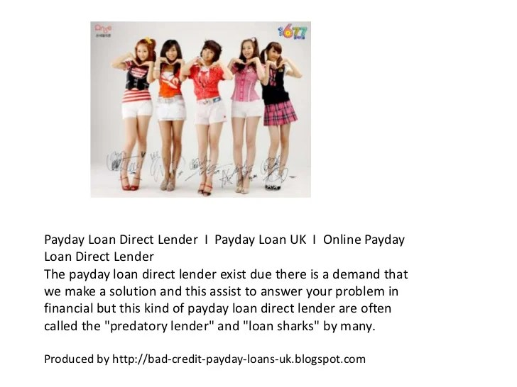 Compare top best online payday loan direct lender